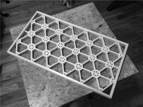 Kumiko Grid with Frame