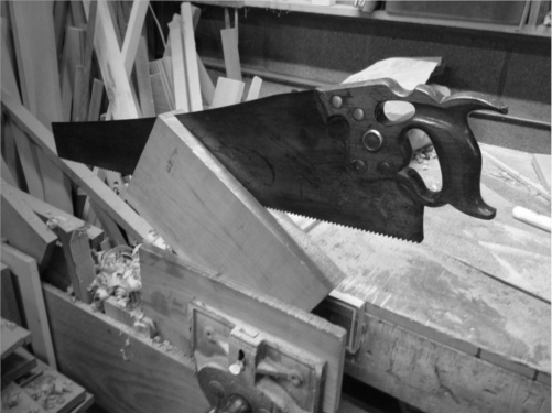 Resawing table top by hand